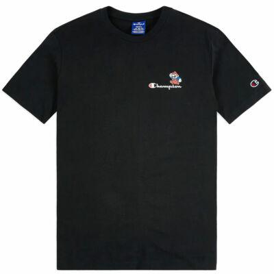 Champion X Super Mario Bros Mario Logo póló NBK