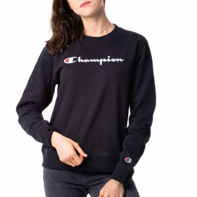 Champion Reverse Embroidered Logo Crew pulóver NBK
