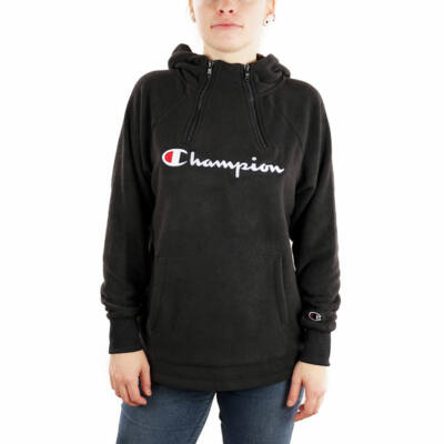 Champion Reverse Embroidered Logo Polar Half Zip pulóver NBK