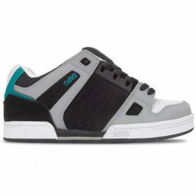 DVS Celsius cipő Black Charcoal White Nubuck
