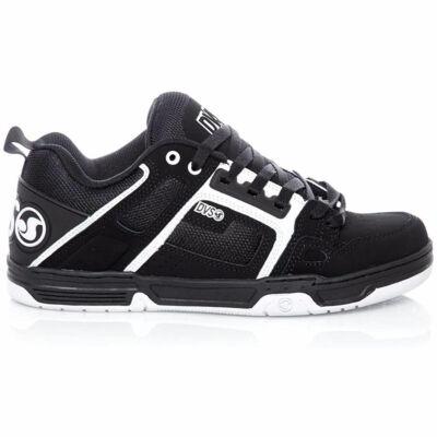 DVS Commanche cipő Black White Leather