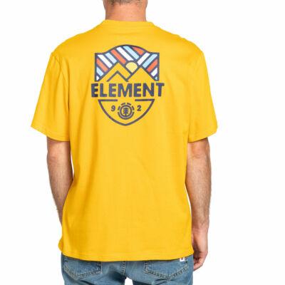 Element Beaming póló Old Gold