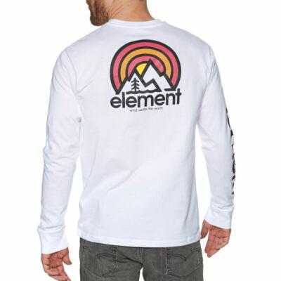 Element Sonata ls póló Optic White