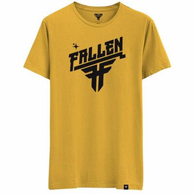 Fallen Hi Volt póló Mustard