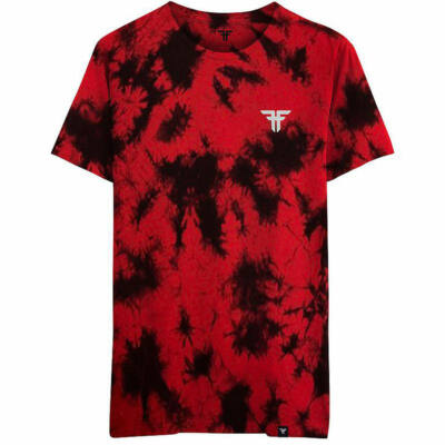 Fallen Tie Die Trademark póló Red Washed