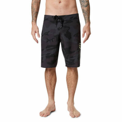 Fox Overhead Camo Stretch boardshort Black Camo