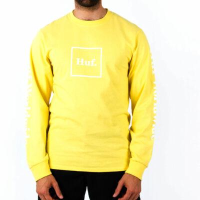 HUF Essentials Domestic ls póló Yellow