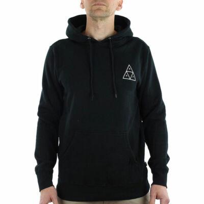 HUF Essentials Triple Triangle kapucnis pulóver Black