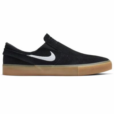 Nike SB Stefan Janoski Slip RM cipő Black White Black Gum Light Brown