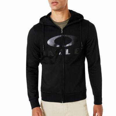 Oakley Bark Fz zipzáros kapucnis pulóver Blackout
