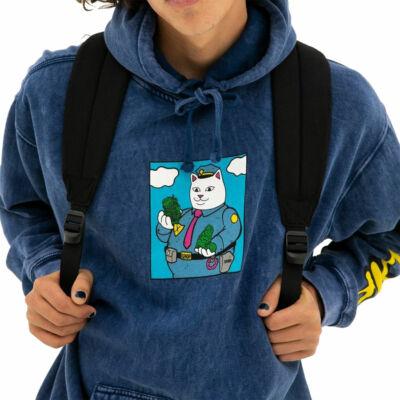 Ripndip Confiscated kapucnis pulóver Ocean Blue