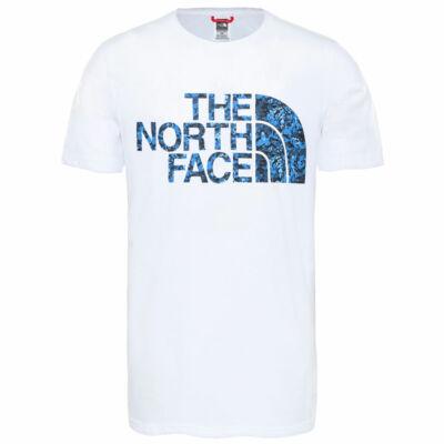 The North Face Standard póló TNF White Clear Lake Blue
