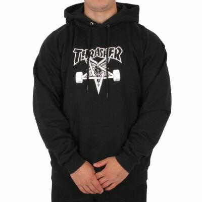 Thrasher Skategoat kapucnis pulóver Black