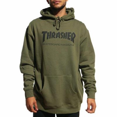 Thrasher Skate Mag kapucnis pulóver Army