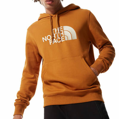 The North Face Drew Peak kapucnis pulóver Timber Tan Vintage White
