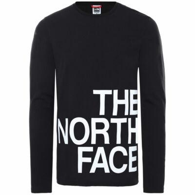 The North Face Graphic Flow ls póló TNF Black TNF White