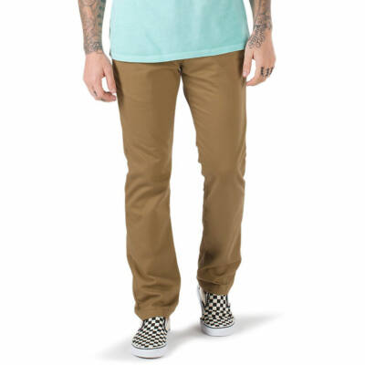 Vans Authentic Chino Stretch Modern Fit nadrág Dirt