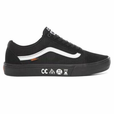 Vans Old Skool Pro BMX cipő Black Black