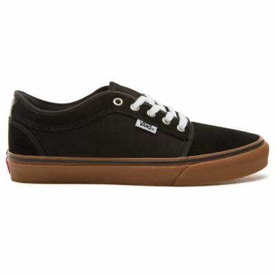 Vans Chukka Low cipő Black Black Gum