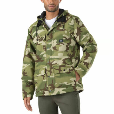 Vans Drill Chore kapucnis kabát 66 Supply Camo