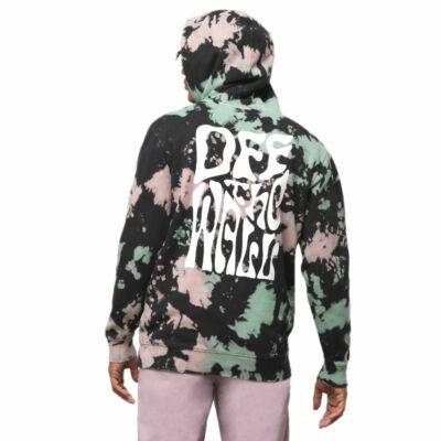 Vans Hell Yeah Tie Dye kapucnis pulóver Black Tie Dye