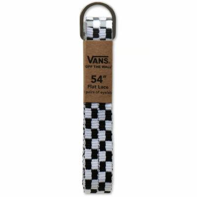 Vans cipőfűző Black White Checkerboard 1pár 137cm