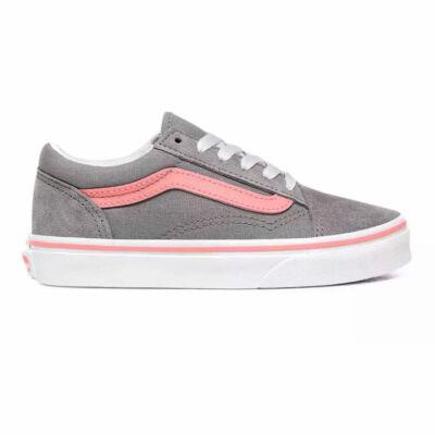 Vans Old Skool gyerek cipő Pop Frost Grey Pink Icing