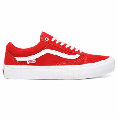Vans Old Skool Pro Suede cipő Red White