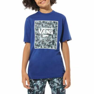 Vans Print Box Boys gyerek póló Sodalite Blue Shark Camo