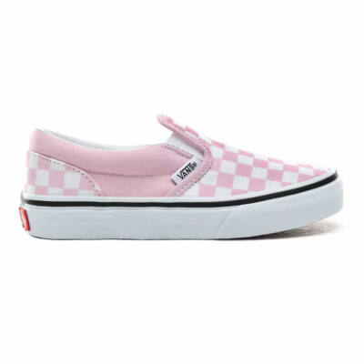 Vans Classic Slip-On gyerek cipő Checkerboard Lilac Snow