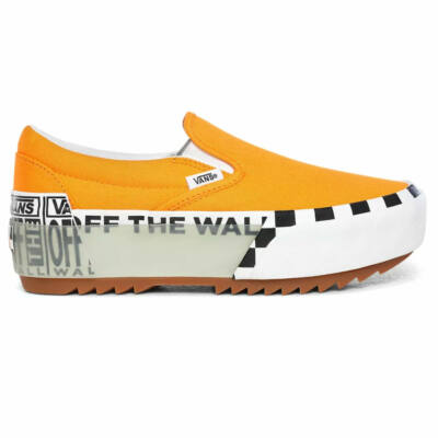 Vans Slip-On Stacked cipő Bright Marigold True White