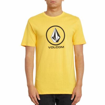 Volcom Crisp Stone póló Citrus Gold