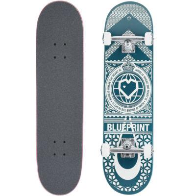 Blueprint Home Heart komplett gördeszka Navy White 8.0x31.5