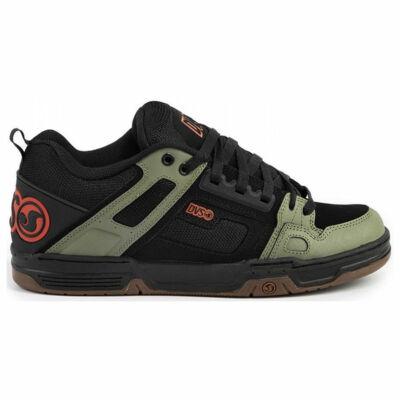 DVS Commanche cipő Black Olive Orange