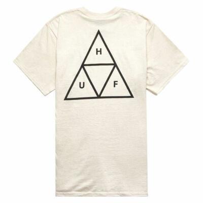 HUF Triple Triangle póló Natural