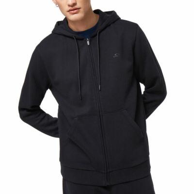 Oakley Relax zipzáros kapucnis pulóver Blackout