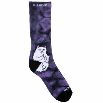 Ripndip Lord Nermal zokni Lavender Tie Dye 1 pár