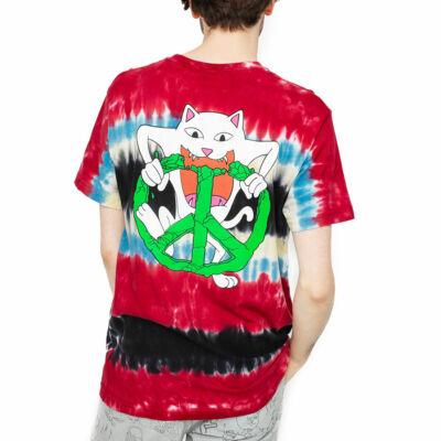 Ripndip Peace No Love póló Tie Dye