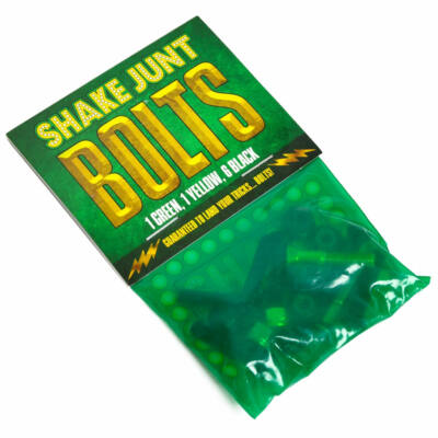 Shake Junt Phillips csavarkészlet Green Yellow Black 7/8col