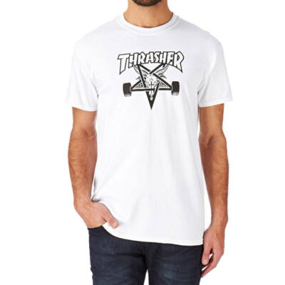 Thrasher Skategoat póló White
