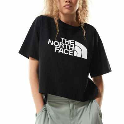 The North Face Cropped Easy póló TNF Black