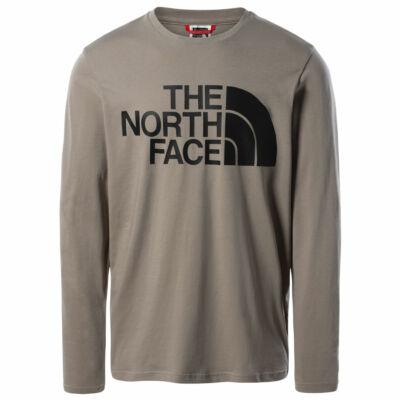 The North Face Standard ls póló Mineral Grey