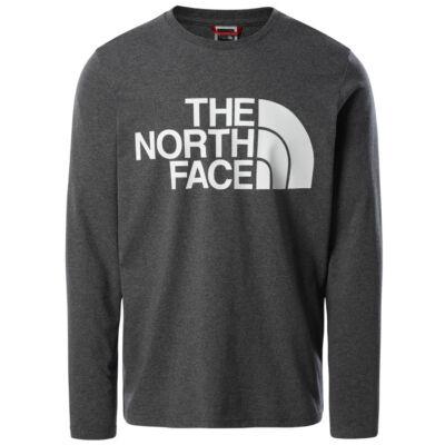 The North Face Standard ls póló TNF Medium Grey