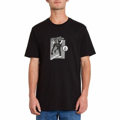 Volcom Hittin Basic póló Black