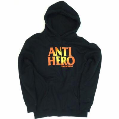 Antihero Logo pulóver Black