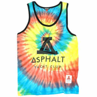 Asphalt Yacht Club Logo trikó Tie Dye