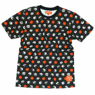 Asphalt Yacht Club Point Floral Multi póló Black