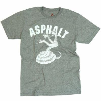Asphalt Yacht Club Snake póló Grey
