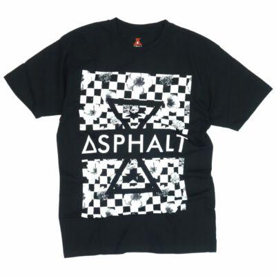 Asphalt Yacht Club Triangle póló Black