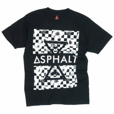 Asphalt Yacht Club Triangle póló Black